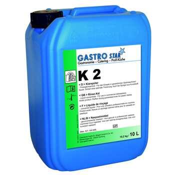 Środek płuczący do użycia z twardą wodą, 10 l | GASTRO STAR, K2