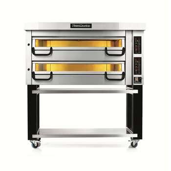 Piec do pizzy 2-komorowy sterowany elektronicznie, 12 x pizza 355 mm | PIZZA MASTER, Modular PM 732ED
